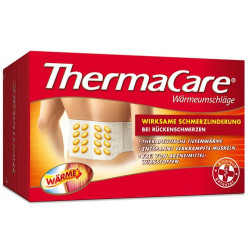 ThermaCare Rückenumschläge S-XL zur Schmerzlinderung 6St