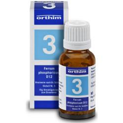 Biochemie Orthim Globuli 3 Ferrum phosphoricum D12 15g
