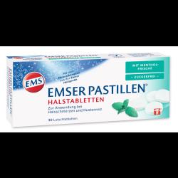 EMSER Pastillen mit Mentholfrische zuckerfrei 30St