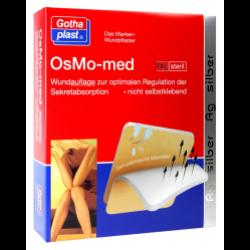 OsMo - Med Wundpflaster steril 7,5x7,5cm 10St