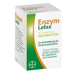 Enzym Lefax Kautabletten 200St
