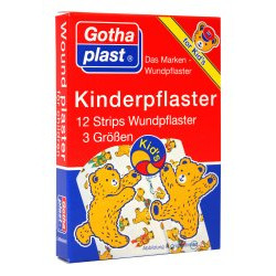 Gothaplast Kinderpflaster Strips 12St