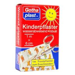 Gothaplast Kinderpflaster 1 m x 6 cm 1St