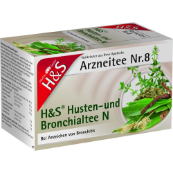 H&S Husten- und Bronchialtee N Nr. 8 20St