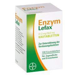 Enzym Lefax Kautabletten 100St