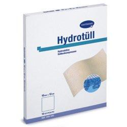 Hydrotüll Hydroaktive Salbenkompressen 10 cm x 12 cm 10St