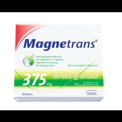 Magnetrans 375 mg direkt-granulat 50St