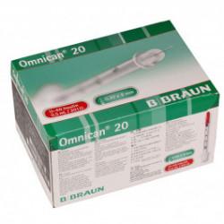 Omnican 20 Insulin-Spritze - 0,30 x 8mm 0,5ml U-40 / 100 Stück