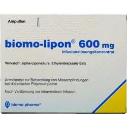 Biomo Lipon 600mg Ampullen 10 St.