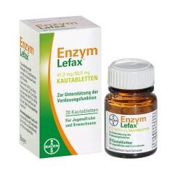 Enzym Lefax Kautabletten 20St