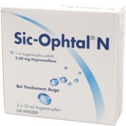 Sic-Ophtal N Augentropfen 3x10ml