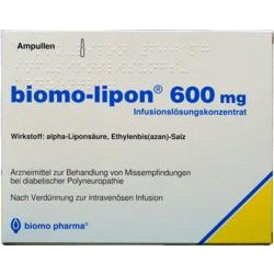 Biomo Lipon 600mg Ampullen 20 St.