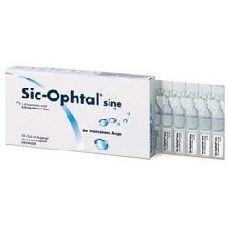 Sic-Ophtal sine Augentropfen Einzeldosispipetten 120x0,6ml