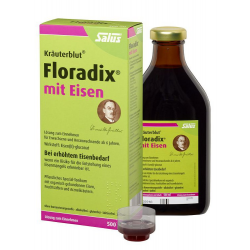 Floradix Kräuterblut mit Eisen Tonikum 500ml