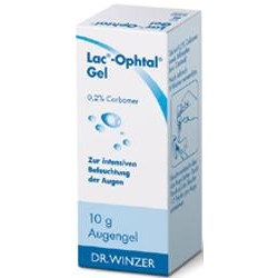 Lac-Ophtal Gel Augentropfen 10g
