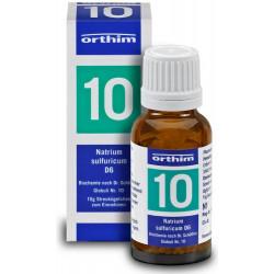 Biochemie Orthim Globuli 10 Natrium sulfuricum D6  15g