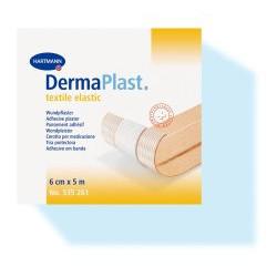 DermaPlast textile elastic Pflaster 5 m x 6 cm 1St