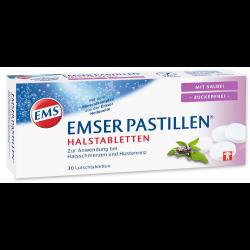 Emser Pastillen® Halstabletten mit Salbei zuckerfrei 30St
