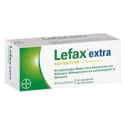 Lefax extra Kautabletten 50St
