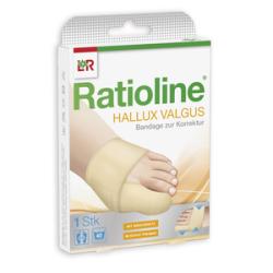 Rationline Hallux valgus Bandage zur Korrektur Gr.M 1St