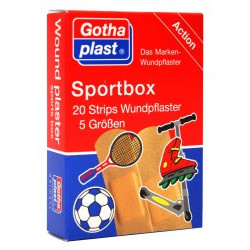 Gothaplast Sportbox Strips in 5 Größen 20St