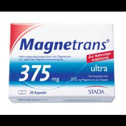 Magnetrans 375 mg ultra Kapseln 20St