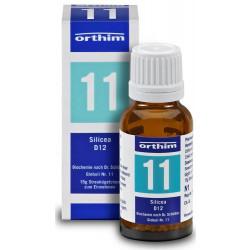 Biochemie Orthim Globuli 11 Silicea D12  15g