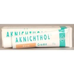 Aknichthol Creme 50g