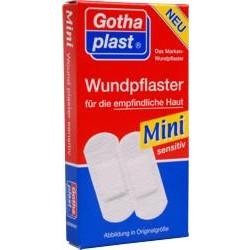 Gothaplast Wundpflaster Mini sensitiv 4 x 1,7 cm 20St