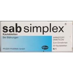 Sab Simplex Kautabletten 100St