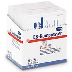 ES-Kompressen 10 cm x 10 cm 8-fach, steril. 5x2St
