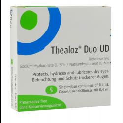 Thealoz Duo UD Einzeldosispipetten 5st