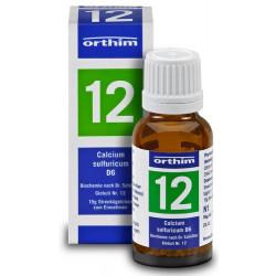 Biochemie Orthim Globuli 12 Calcium sulfuricum D6 15g