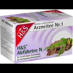 H&S Abführtee N Filterbeutel 20St