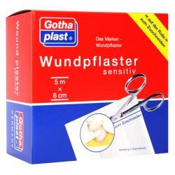Gothaplast Wundpflaster sensitiv 5 m x 6 cm 1St