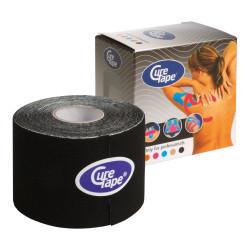 Cure Tape, 5 m x 5 cm, wasserfest, schwarz