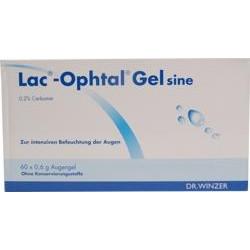 Lac-Ophtal Gel sine Augentropfen 60x0,6ml