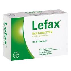 Lefax Kautabletten 100St