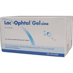 Lac-Ophtal Gel sine Augentropfen 120x0,6ml