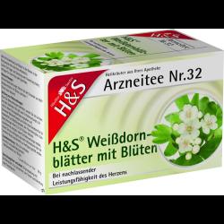 H&S Weissdornblätter mit Blüten Nr. 32 20St