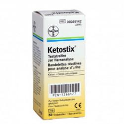 Ketostix - Urinteststreifen / 50 Stück
