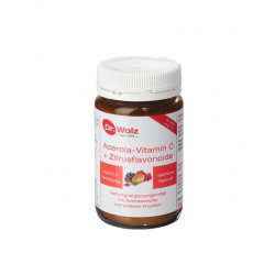 Acerola-Vitamin C + Bioflavonoide Dr. Wolz Pulver 90 g