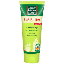 Allgäuer Latschenkiefer Fuß Butter Creme 100ml