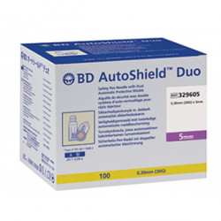 BD AutoShield Duo  Sicherheits-Pen-Nadeln 30G 5mm / VPE 100 St.