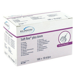 Klinion Soft fine plus  Pen-Nadeln 6mm / VPE 100+10 St.