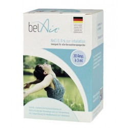belAir NaCl 0,9% zur Inhalation, 30 x 3 ml