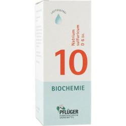Biochemie Pflüger 10 Natrium sulfuricum D6 Tropfen 100 ml
