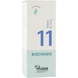 Biochemie Pflüger 11 Silicea D12 Tropfen 100 ml