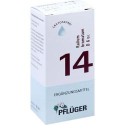 Biochemie Pflüger 14 Kalium bromat.D 6 Tropfen 30 ml