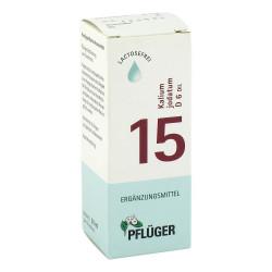 Biochemie Pflüger 15 Kalium jodatum D 6 Tropfen 30 ml